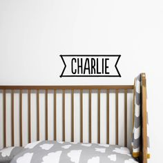 Name Banner Wall Sticker