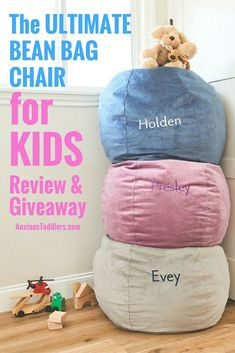 440bb96265fe The Ultimate Children s Bean Bag Chair for Kids  Review   Giveaway
