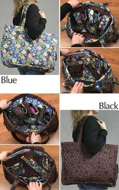 6e0ec49146 KNITSAWAY TOTE BAG -take your craft projects in this bag when you travel.  Yarn