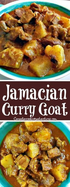 Jamaican Curry Goat is authentic delicious and the full recipe can be found on my Jamaican Curry Goat, Jamaican Cuisine, Jamaican Dishes, Jamaican Recipes, Curry Recipes, Jamaican Curry Chicken, Guyanese Recipes, Goat Recipes, Indian Food Recipes