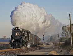 RailPictures.Net Photo: NKP 765 Nickel Plate Road Steam 2-8-4 at Roanoke, Indiana by Jeremy Lowth