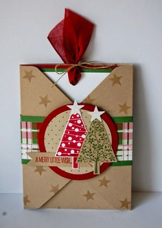 Julie Kettlewell - Stampin Up UK Independent Demonstrator - Order products Tuesday Club make Christmas Cards Uk, Christmas Gift Card Holders, Stampin Up Christmas, Noel Christmas, Christmas Paper, Xmas Cards, Holiday Cards, Christmas Crafts, Christmas Punch