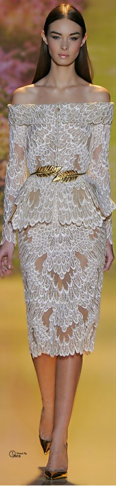 Zuhair #Murad Couture printemps été 2014 #mode Repinned by www.fashion.net