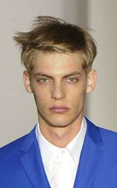 Men's Hairstyles Trends Spring-Summer 2013 Catwalk the First Look