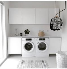 Lovely Laundry Room Design Ideas With Scandinavian Style Room Interior, Interior Design Living Room, Living Room Designs, Nordic Interior, Modern Laundry Rooms, Laundry In Bathroom, Scandinavian Style, Laundry Room Inspiration, Laundry Room Storage