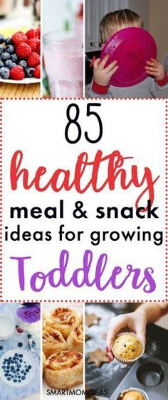 Do you need toddler meal ideas for your picky eater? Having healthy and quick toddler meals is a must for any mom. From finger foods, to fun toddler meals, to having a rainbow plate of food, here are 85 meal and snack ideas for your 2 year old toddler! #toddlermeals