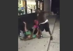 """Shocking? More black on white violence. Black couple stomps and robs white girl for being in the """"wrong hood"""" [VIDEO]"""