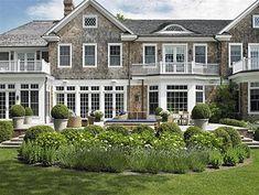 beautiful pools and gardens, shingle house, landscaping, Hamptons