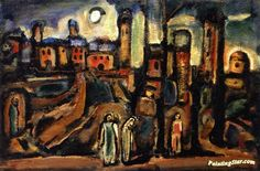 Twilight Artwork by Georges Rouault