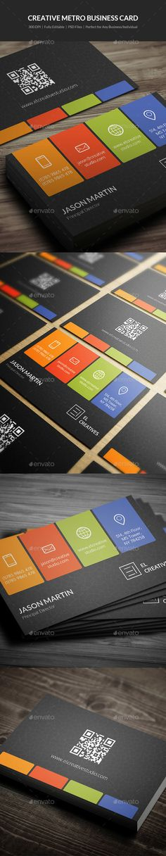 #Creative Metro #Business #Card - 16 - Creative Business Cards