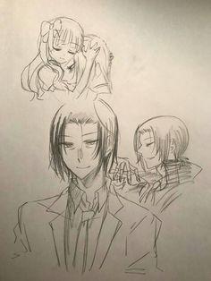 Mori Ogai and Elise Drawing