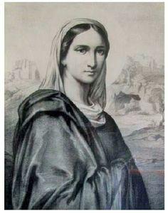 Verdadero retrato de la Santísima Virgen María, dibujado del que pintó San Lucas, y al cual se le atribuyen numerosas Gracias otorgadas por la Santísima Virgen. Se encuentra en el Museo de la Casa donde Nació la Madre de Cristo, en Tierra Santa.