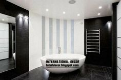You have a small bathroom, and you have no idea how to decorate it? A small bathroom may look great and be fully functional. Bad Inspiration, Bathroom Inspiration, Bathroom Ideas, Bathtub Ideas, Modern Bathroom Design, Bathroom Interior Design, Bathroom Designs, Black White Bathrooms, Bathroom Black