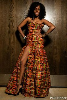 african print dress styles for weddings - Google Search