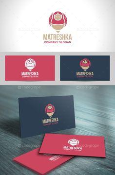 Matreshka Logo Template - http://www.codegrape.com/item/matreshka-logo-template/5931