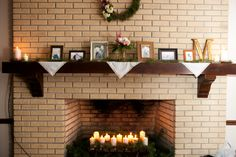 Reception Mantle Display