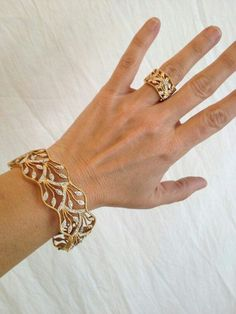 Vintage Sterling Silver Gold Vermeil Eternity Two Tone Estate Jewelry Ring Silver Bracelets, Bangle Bracelets, Gold Jewelry, Fine Jewelry, Silver Ring, Wedding Jewelry, Silver Earrings, Bracelet Watch, Gold Bangles Design