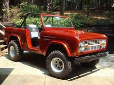 I always dreamed of owning a 1969 Ford Bronco Convertible. For my Coastline Roadies