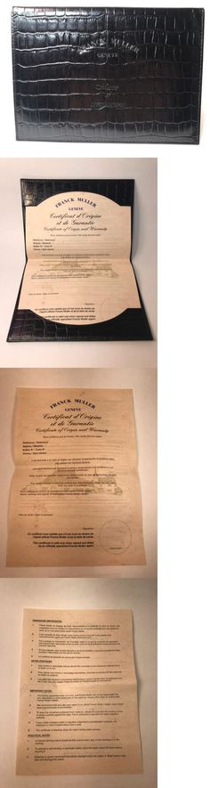 Manuals and Guides 93720 Patek Philippe Certificate Of Origin - blank certificate of origin