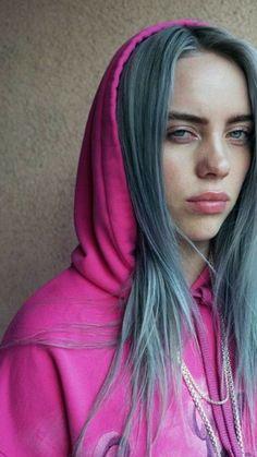 Billie Eilish, Hair Color Blue, Grunge Hair, Me As A Girlfriend, Queen, Cute Girls, Beautiful People, Avocado, Celebs