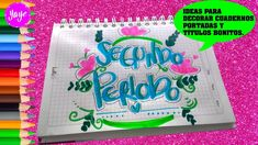 Imagen relacionada Bullet Journal School, Doodles, Diy, Candy, Lettering, Cool Stuff, Drawings, Tableware, Creative Notebooks
