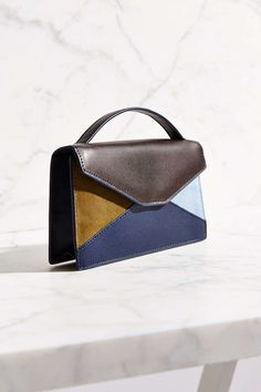 Silence + Noise Patchwork Hand Strap Bag - Urban Outfitters