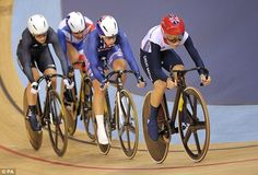 Lightning Laura on track to be Britain's female Hoy after striking gold in the omnium Olympic Cycling, Essex Girls, Olympic Champion, Sports Training, Lightning, Olympics, Britain, Athlete, Track