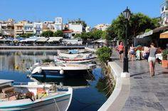 Waterfront, Agios Nikolaos, Crete