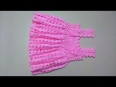 Crochet girl dress - Majovel crochet - YouTube