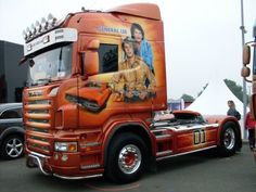 Not the General Lee SCANIA TPS. GASTALDI