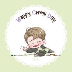 Kpop Exo, Exo Kokobop, Exo Chen, Sehun, Exo Birthdays, Happy 28th Birthday, Exo Fan Art, Boy Celebrities, Korean Boy