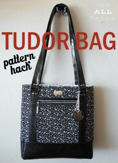 Pattern hack for the Sew Sweetness Tudor Bag sewing pattern.