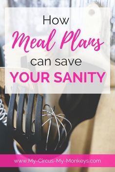 Having a Meal or Menu plan can save your sanity right around 5pm. We've got a FREE downloadable printable to help you meal plan like a pro!