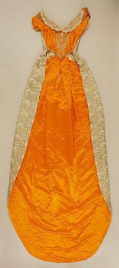Court dress  Date: 1892–93 Culture: Austrian Medium: silk, metallic thread, glass Accession Number: 1978.486