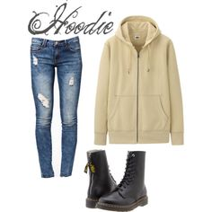 """""""Creepypasta: Hoodie Inspired Outfit"""" by oceana-jade on Polyvore"""
