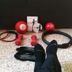 Pure barre at home!