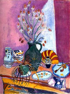 Henri Matisse - still-life with flowers