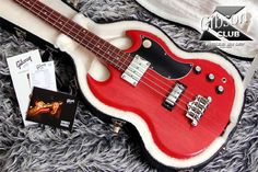 gibson sg bass faded cherry - Google Search