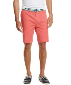 Vineyard Vines Club Shorts in Jetty Red