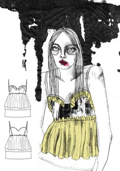 2015 Westminster Fashion illustration – Giryung Kim