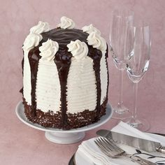 Gluten Free Niagra Falls Cake Recipe - Whoa.....