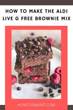 Come see How to Make the Aldi Live G Free Brownie Mix these brownies are so good and fun to make! These G free Brownies are just so awesome you are going to love this! #HowtoMaketheAldiLiveGFreeBrownieMix #Brownies #GfreeBrownies Brownie Pan, Brownie Recipes, 1 Stick Of Butter, Gluten Free Brownies, Pampered Chef, Free Pattern, Happiness, Treats, Baking