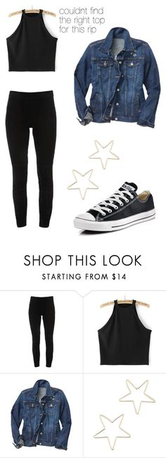 rachel - outfit 2 by electrasweetheart on Polyvore featuring Gap, Elie Tahari, Converse and Shashi