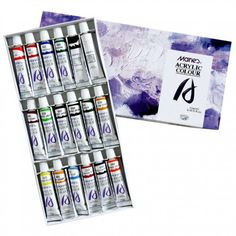 Acrylic Color Paint Set. $25.00, via Etsy.