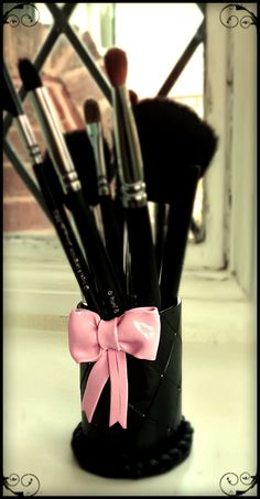 Make your own Make up Brush Holder