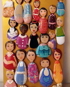 #tas #boyama #tasboyama #taşboyamasanatı #insan #kadın #kadınlargünü #woman #tablo #siparişalınır
