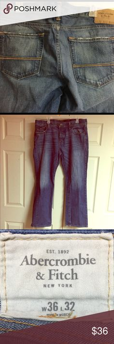 Abercrombie & Fitch Men's Jeans 👖Very nice pair of men's Abercrombie & Fitch men's jeans!  Size 36 x 32 Abercrombie & Fitch Jeans Bootcut