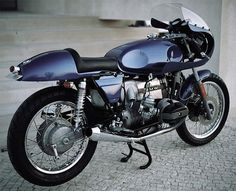 1980 BMW R100RS Cafe Racer.