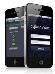 Cyber Rain - Control sprinkler system from iPhone .. it also checks the weather and adjusts the water accordingly