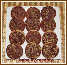 Margot kolečka   Babčiny recepty 4 Ingredients, Amazing Cakes, Food And Drink, Cookies, Blog, Mascarpone, Crack Crackers, Biscuits, Blogging
